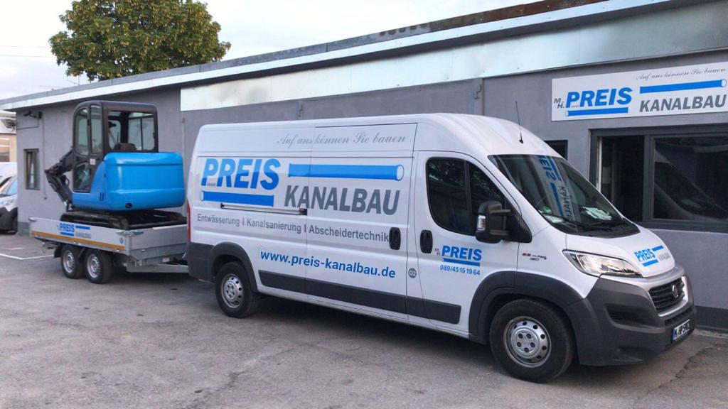Kanalbau München – Kanalbau Preis